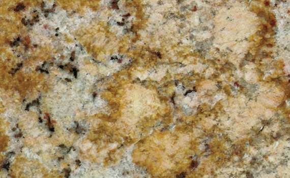 Golden Volcano Granite Color