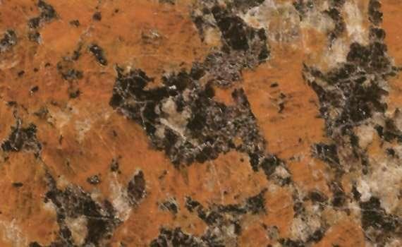 NGJ082 Santiago Red Granite