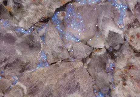 Amethyst Light Precious Glitter