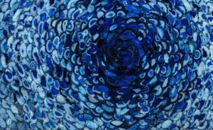 Agata Blue Tornado